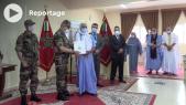Distribution de terres constructibles - Familles et ayants droits - Fondation Hassan II pour les oeuvres sociales - Sahara marocain