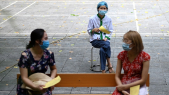 Coronavirus - Vietnam - Covid-19 - Distanciation sociale - Vaccination