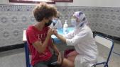 Vaccination des 12-17 ans - Lycée Ibn Toumert - Casablanca - Covid-19 - Coronavirus