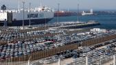 Tanger Med - terminal I - port Tanger Med - voitures