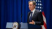 Antony Blinken - Secrétaire d Etat - New York - 76e Assemblée générale ONU - Conférence de presse