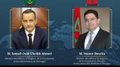 Nasser Bourita et Ismaël Ould Cheikh Ahmed