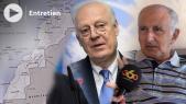 Staffan de Mistura - Envoyé personnel du secrétaire général de l ONU pour le Sahara - Mohamed Tajeddine El Husseini, politologue et expert en géostratégie -