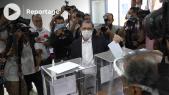 Cover_Vidéo: العثماني يصوت بسلا مسجلا إقبال الناخبين