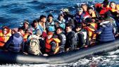 Migrants clandestins algériens