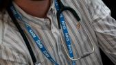 Médecin - Stéthoscope - Badge - Santé publique