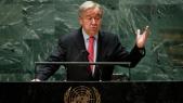 Antonio Guterres - Secrétaire général ONU - Nations-Unies - New York - 76e Assemblée générale