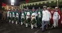 Parade Garde Royale le 29 juillet 2013 bd Zerktouni. av Hassan 2. place Mohammed V - 10