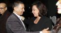 Aicha Amor et Rachid Belkahia, consul honoraire général de Finlande à Casablanca