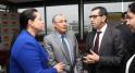 Meryem bensalah CGEM et Mohammed El Kettani PDG Attijariwafa bank-Attijariwafa bank .Conf de Presse thématique de L'accompagnement des écosystèmes Casablanca 22 Dec 2014