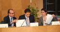 Mahmoud Oudrhiri DG Délégué .Ahmed Mehdi Tazi PDG Saham Assurance Maroc.Kawtar Johrati DG Asset Management
