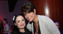 Sana Akroud,actrice et Leila Hadioui,mannequin professionel,actrice et animatrice.