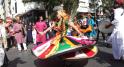 Spectacles de Rues  Danse du Paon de l'Inde. Rabat 30 mai 2015.
