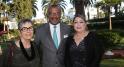 Kathy Kriger,propriétaire de Rick's café. Dwight L. Bush, ambassadeur des Etats-Unis, à Rabat. Khadija Mounfaloti Adjointe du président de la commission chargée de l'urbanisme et de l'environnement.