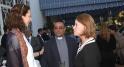 Mme Ann Meceda,Consule Politique et Social.Mon seigneur canon medhat sabry.Andrea Appell Directrice de Dar America.