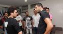 Nabil Ayouch et Kev Adams.