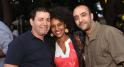 Brahim El Mazned directeur artistique festival timitar agadir et Hicham Bahou,co-fondateur de l'boulevard