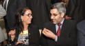 nawal el moutawakel et Abdelaziz El Omari,maire de casablanca