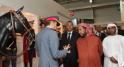 sheikh sultan bin zayed al nahyan represantant l'etat des emiras unis au salon du cheval d'el jadida