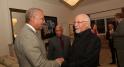 Dwight Bush, l'ambassadeur des Etats-Unis au Maroc et Mohamed Melehi,artiste peintre