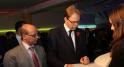 fadel agoumi,cgem et tobias ellwood, Secrétaire d'Etat britannique chargé de la région MENA signe le livre d'or CGEM