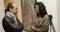 Younes Lazark, radio 2M et l'artiste Majida Khattari