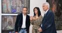 Maitre Zine et l'artiste Majida Khattari