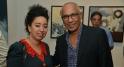 L'artiste Yamou et l'actrice Amal El Atrache