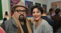 Le rappeur Don big et Maria Naciri