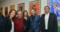 Nadia Amor, l'artiste Hassan Hajjaj, Meryem Bouazzaoui, Dr Karim Jaffali et Khalid Nasr
