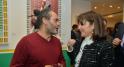 L'artiste Hassan Hajjaj et Rita Lahlou