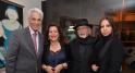 Maitre Mustapha Zine, Madame Aicha Amor, l'artiste Mohamed Melehi et son épouse