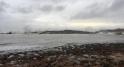 La mer déchaînée sur le littoral de Rabat2