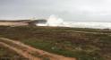 La mer déchaînée sur le littoral de Rabat3