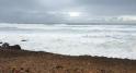 La mer déchaînée sur le littoral de Rabat4
