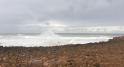 La mer déchaînée sur le littoral de Rabat6