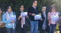 Assassinat de deux touristes scandinaves sit-in de solidarité3
