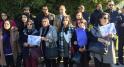 Assassinat de deux touristes scandinaves sit-in de solidarité7