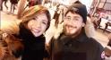 Leila Hadioui en compagnie de Saad Lamjarred