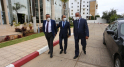 Lors de la rencontre entre les dirigeants de l'Association marocaine des médias et de l'édition et le ministère de la Communication.