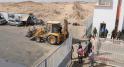Travaux de désensablement de la route goudronnée par les autorités locales à El Guerguerat 6