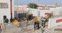 Travaux de désensablement de la route goudronnée par les autorités locales à El Guerguerat 9