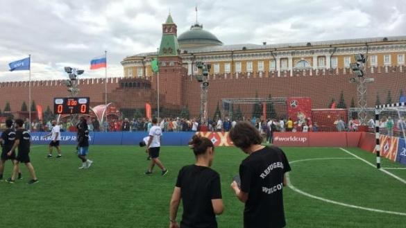 Russie 2018 la place rouge