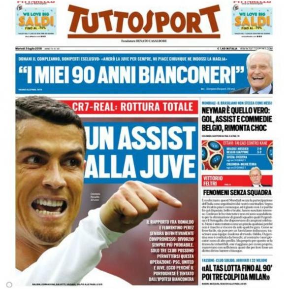 Cristiano Ronaldo Tuttosport