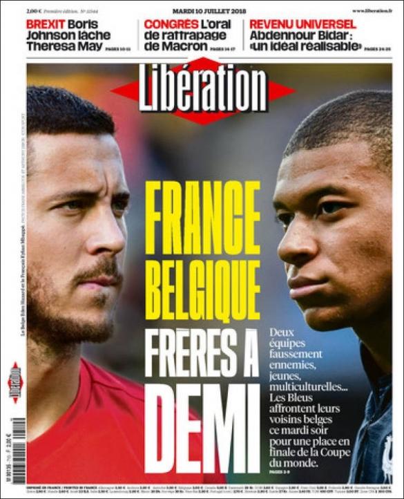 Une de journal - Liberation
