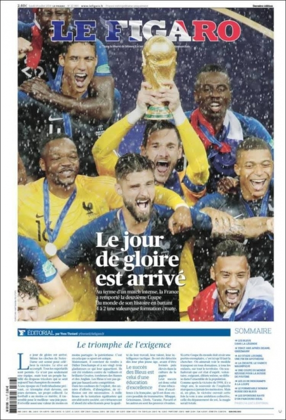 Russie 2018 le Figaro