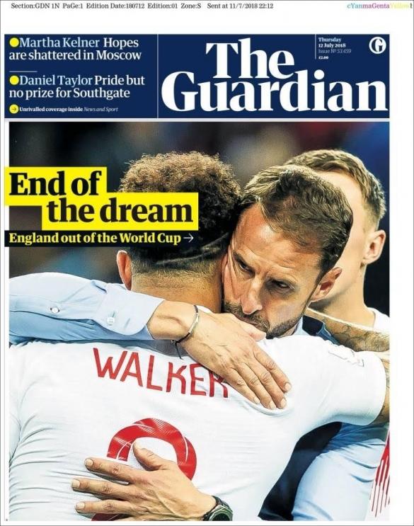 Revue de presse Angleterre