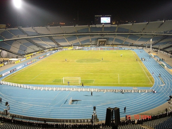 4) Stade International du Caire (Egypte)