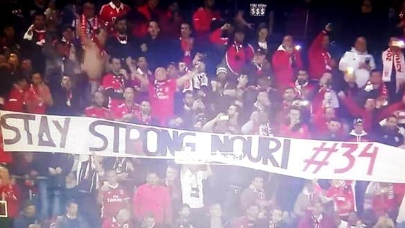 Soutien Benfica à Nouri