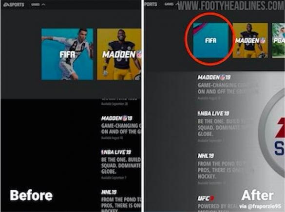 EA Ronaldo